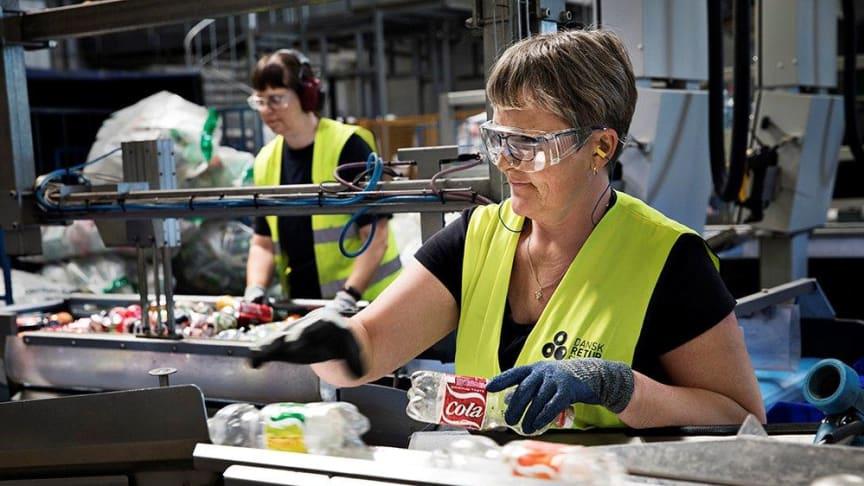 Øget effektivitet betød, at Dansk Retursystem kunne sænke producenternes betaling i 2018.