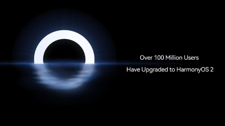 Huaweis HarmonyOS når över 100 miljoner användare