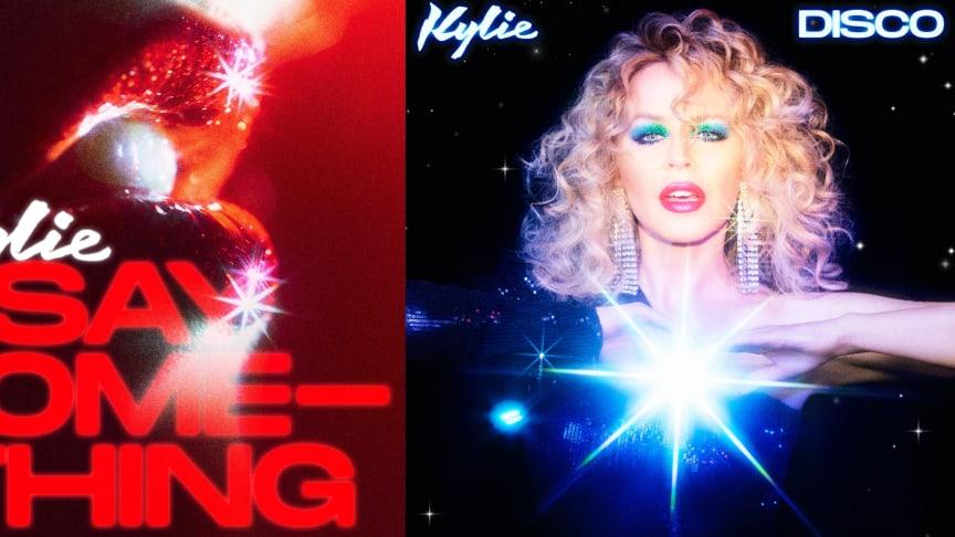 """SINGEL & ALBUM. Kylie släpper albumet """"DISCO"""" i november och nu kommer första singeln """"Say Something"""""""