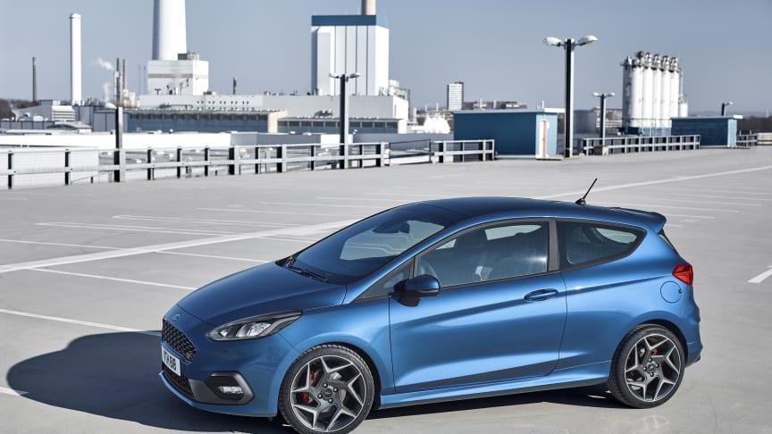 Nästa generations Ford Fiesta ST.