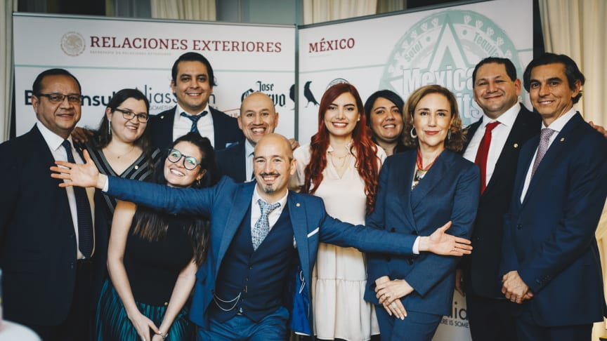 The Hosts - The Mexican Embassy and AliasSmith team.