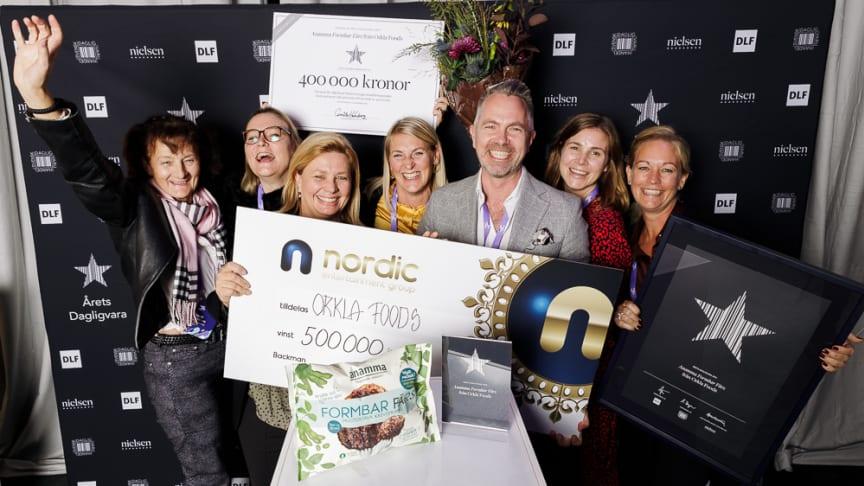 De glada vinnarna från Orkla Foods Sverige