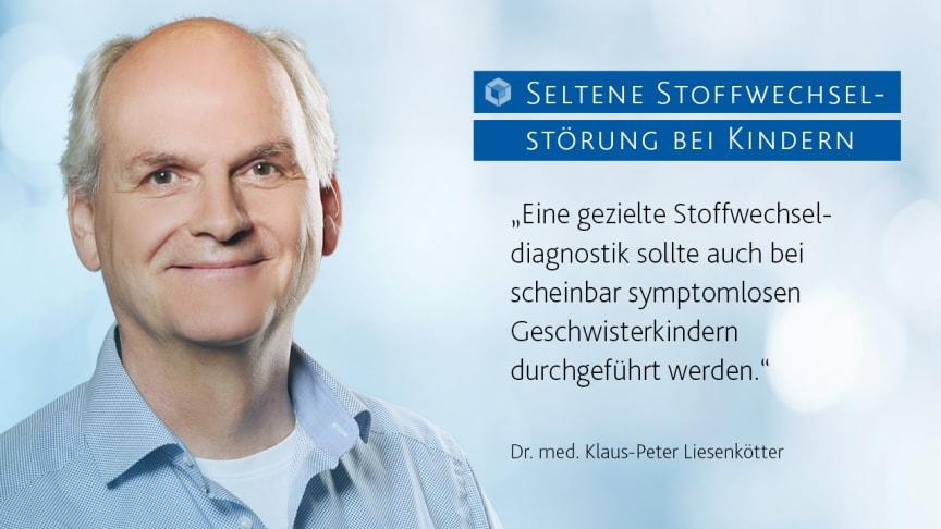 """Diagnostik Seltener Erkrankungen: """"Auch an scheinbar symptomlose Geschwister denken"""""""