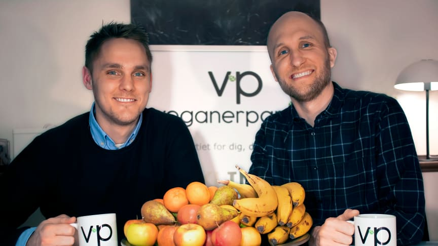 The two party founders, Henrik Vindfeldt (left) And Michael Monberg (right).