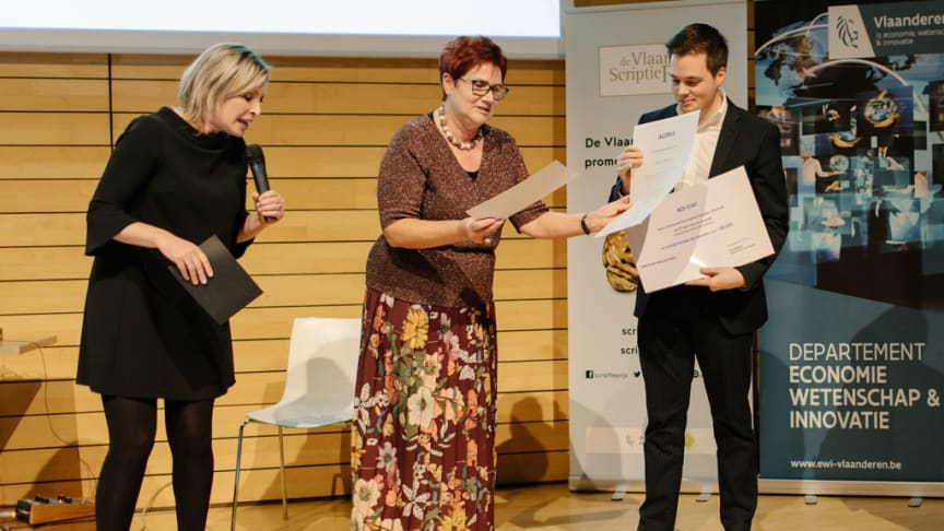 Nick Staut wint Agoriaprijs 2019
