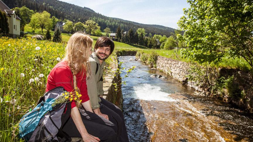 Wandern im Erzgebirge (Foto: TVE/René Gaens)