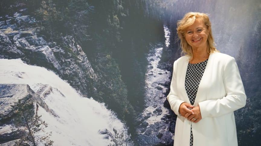 Styreleder Ann-Christin Andersen i Glitre Energi