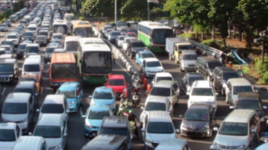 Rush hour traffic in Jakarta, the capital of Indonesia. (iStock photo: Copyright LIVINUS )