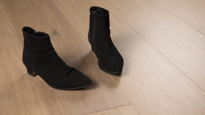 Lackade ekgolv en ny miljöinnovation från golvföretaget Bjelin.