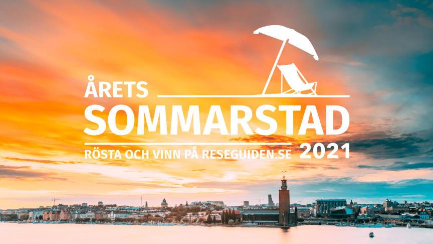 Nu startar omröstningen av Årets Sommarstad 2021