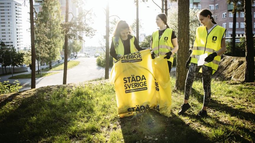 Partille kommun i nytt hållbarhetsinitiativ med Städa Sverige