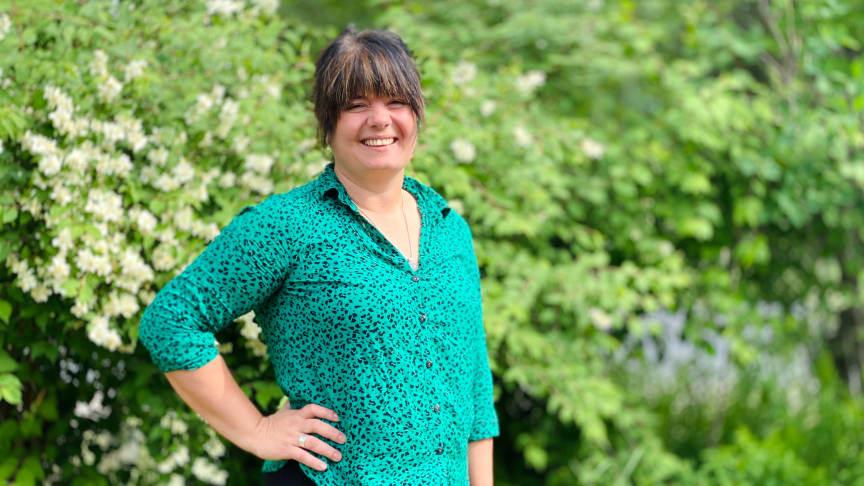 Regina Duymaz ansvarar för BizMakers inkubatorverksamhet, och gläds åt beskedet från Sveriges innovationsmyndighet Vinnova