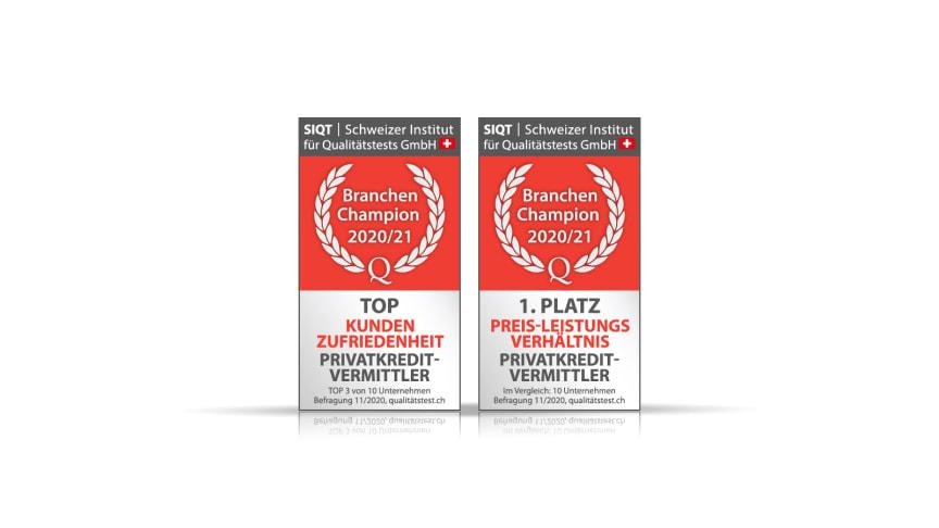 FinanceScout24: Testsieger in der Kategorie Preis-Leistungsverhältnis