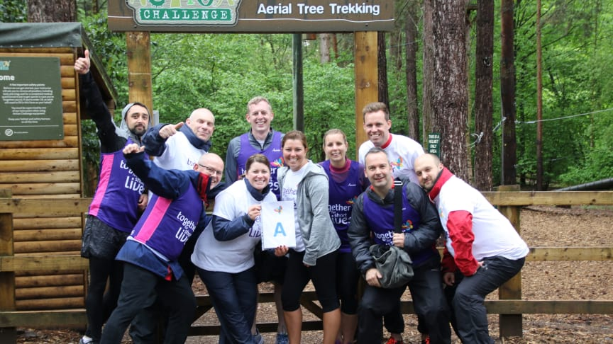 Staff at Center Parcs Elveden Forest take part in one of their A-Z challenges