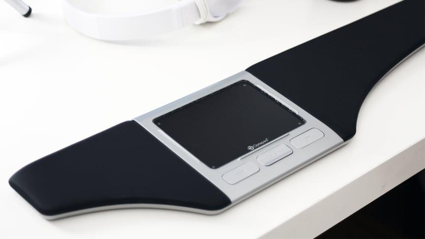 Optapad, den svensktillverkade ergonomiska musen