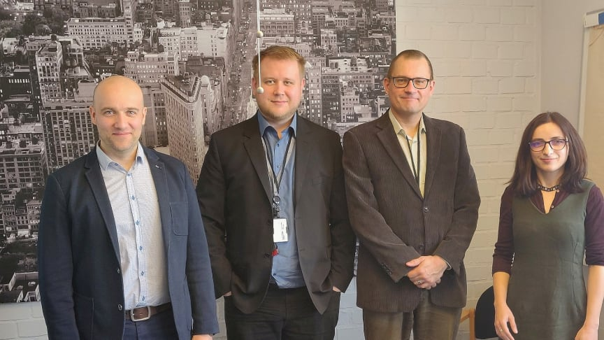 Frank Österlund (Senior Planning Officer MIGRI), Leo Hämäläinen (Information Security Planner MIGRI), Kaj Välimäki (Data Protection Officer MIGRI), Adina Mocanu (Mission Control VERIFIED)