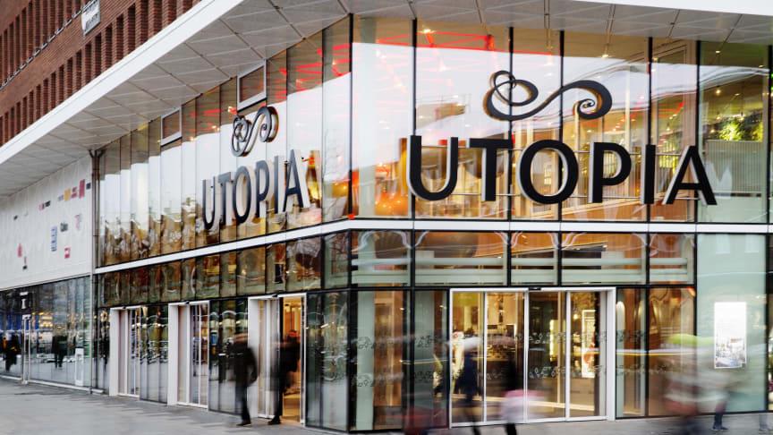 Gallerian Utopia, mitt i centrala Umeå, får ny cocktailbar. Foto: Malin Grönlund