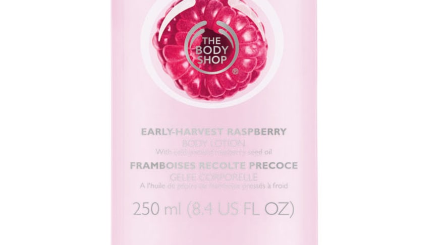 Early-Harvest Raspberry Body Lotion