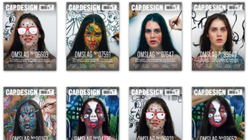 Unikt omslag till varje läsare - CAP&Design överraskar med nästa nummer
