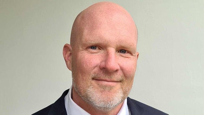 Niklas Sjöstrand, CCO för Tres företagsaffär