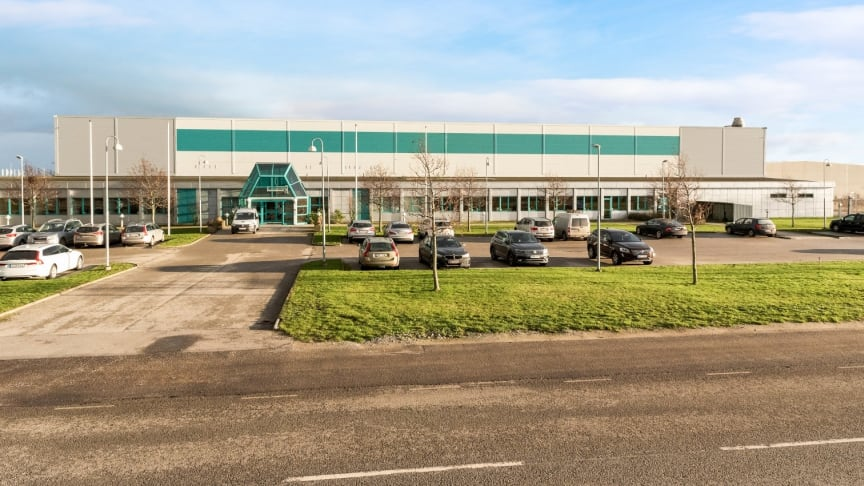 Fastigheten Tankbilen 3 i Sjöviks industriområde, Trelleborg.