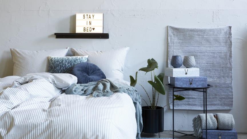 Skab en hyggelig stemning i soveværelset