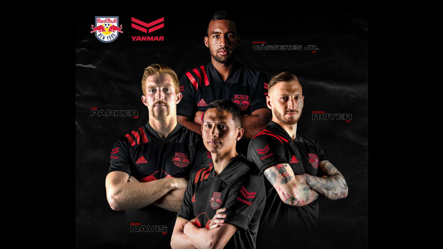 Yanmar Sponsors New York Red Bulls as Jersey Patch Sponsor for MLS is Back Tournament