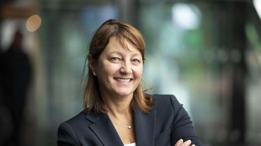 Telenor skaffer seg nå innsikt for bedre å planlegge for fremtidens arbeidsliv, sier Anne Flagstad, HR-direktør i Telenor Norge. Foto: Martin Fjellanger
