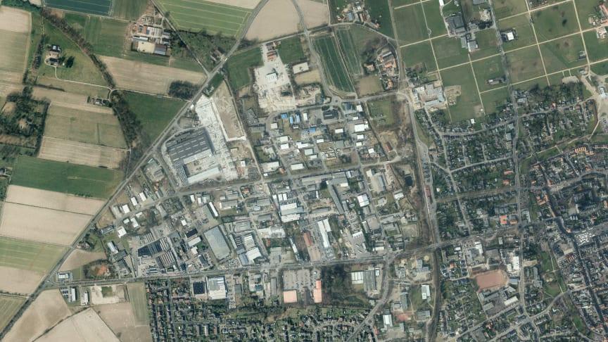Xanten: Dieses Gewerbegebiet und  die benachbarten Schulen erhalten die leistungsstärkste Breitband-Infrastruktur der Welt