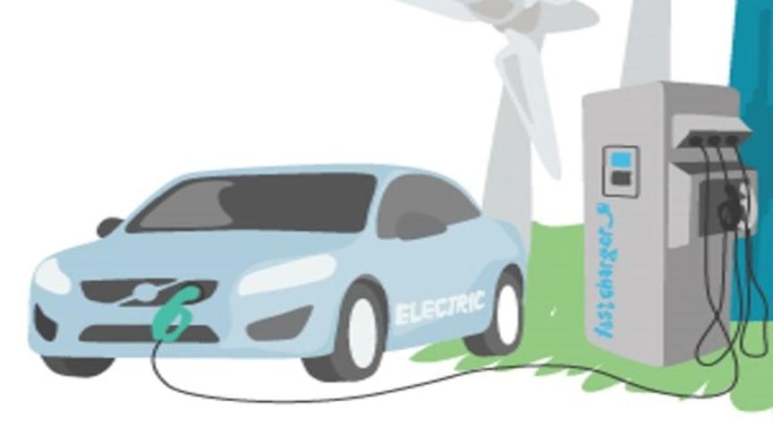 Göteborg Energi storsatsar på nya laddningsmöjligheter för elbilar i Göteborg