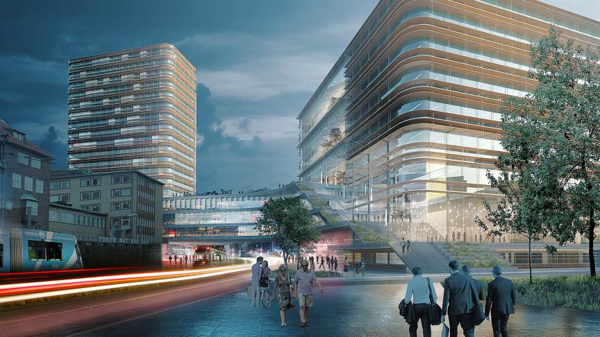 Arkitema bag stor udvikling af Sahlgrenska Universitetssygehus i Gøteborg