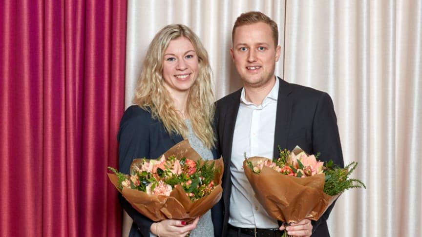 Malin Dahlbom och Jakob Traung