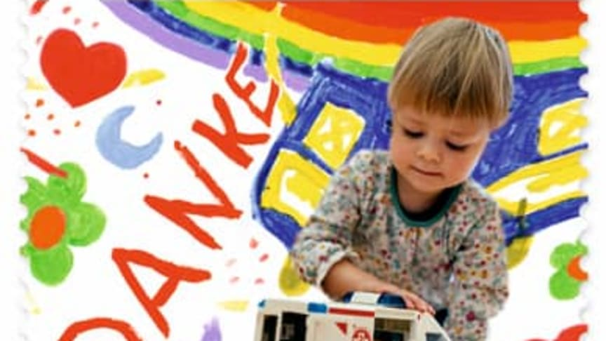 Elternhilfe Sonderbriefmarke