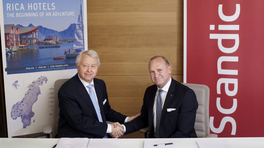 Scandic acquires Rica Hotels - Strengthens its portfolio with 72 new hotels in Norway and Sweden