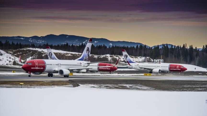 Norwegian med fortsatt passagerartillväxt och högre kabinfaktor i januari
