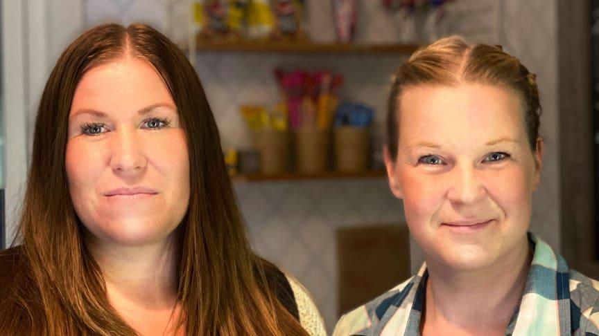 Vanja Marthin & Ida Oderstål, butiksföreståndare