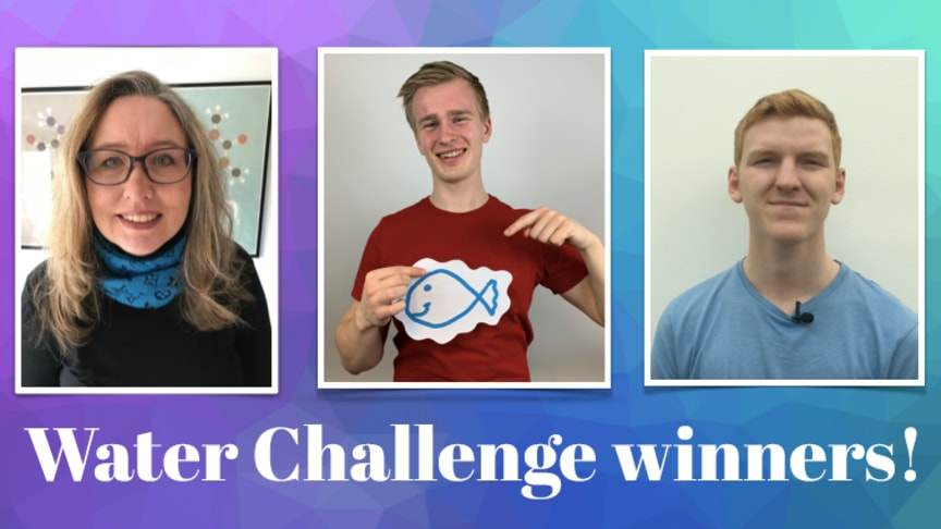 Sustainable water solutions awarded in Water Challenge!