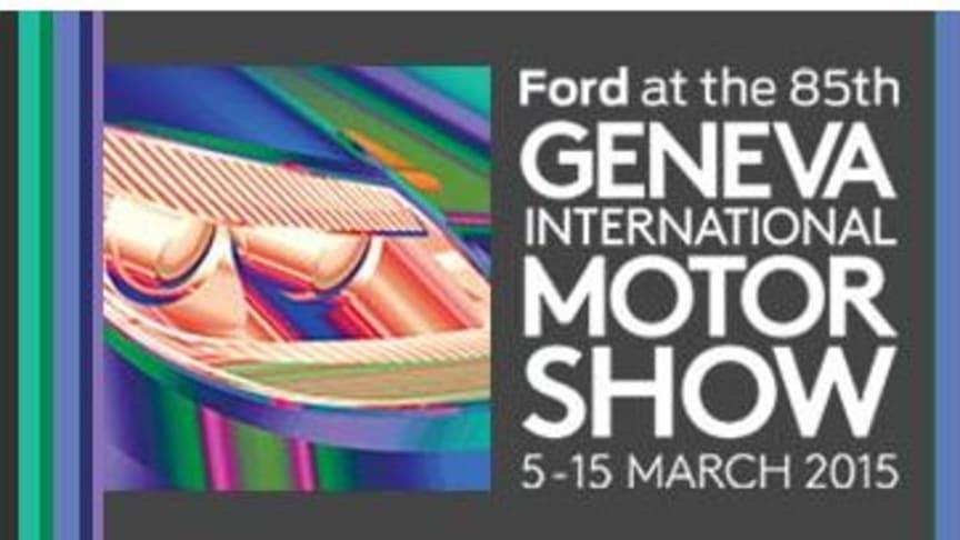 Ford avduker Focus RS og Ford GT på den internasjonale bilutstillingen i Genève