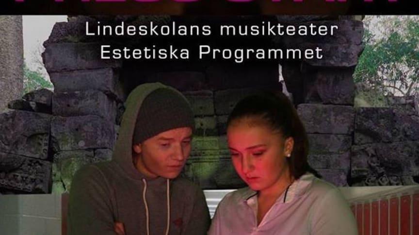 Premiären närmar sig för årets musikteater på Lindeskolan