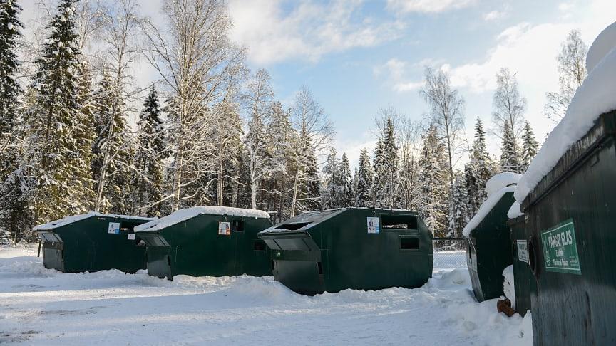 Borgafjäll får en till återvinningsstation
