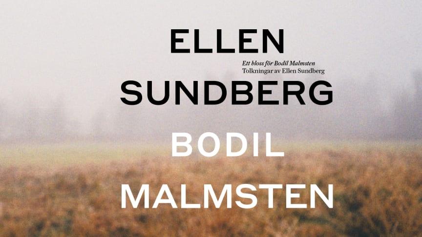"""""""ETT BLOSS FÖR BODIL MALMSTEN"""" släpps som album idag - på turné till hösten"""