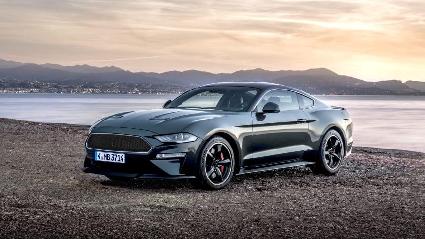 Nu släpps specialversionen av Ford Mustang Bullitt i Europa.