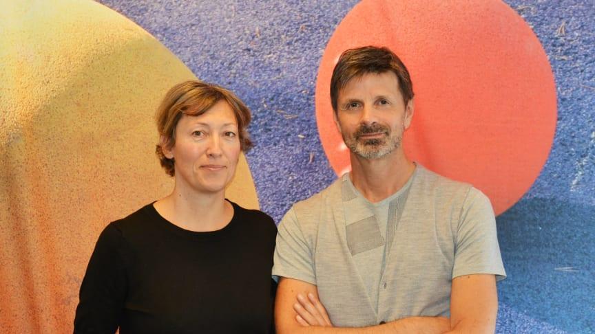 Miljørådgiver Bodil Motzke og juridisk direktør Terje Stepaschko i Undervisningsbygg.