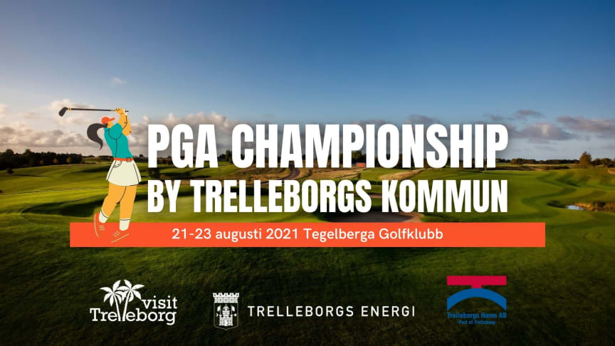 PGA Championship by Trelleborgs kommun 21-23 augusti 2021