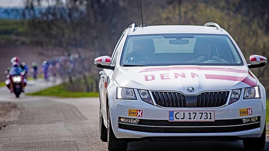 Danmarks Cykle Union og ŠKODA forlænger stor sponsoraftale