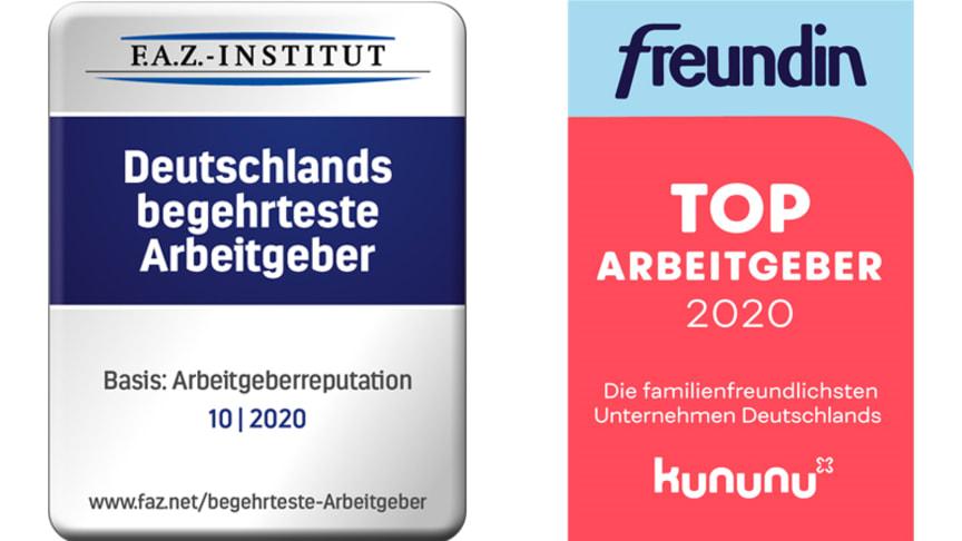Deutsche Glasfaser wurde vom F.A.Z.-Institut zum begehrtesten Arbeitgeber und inexio von kununu und freundin zum familienfreundlichsten Unternehmen ausgezeichnet.