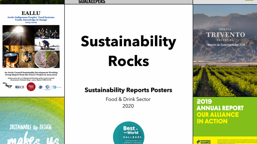Sustainability Rocks, an international book from Hallbars in Sweden