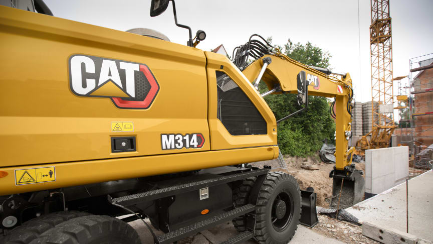 Nya hjulgrävaren Cat M314