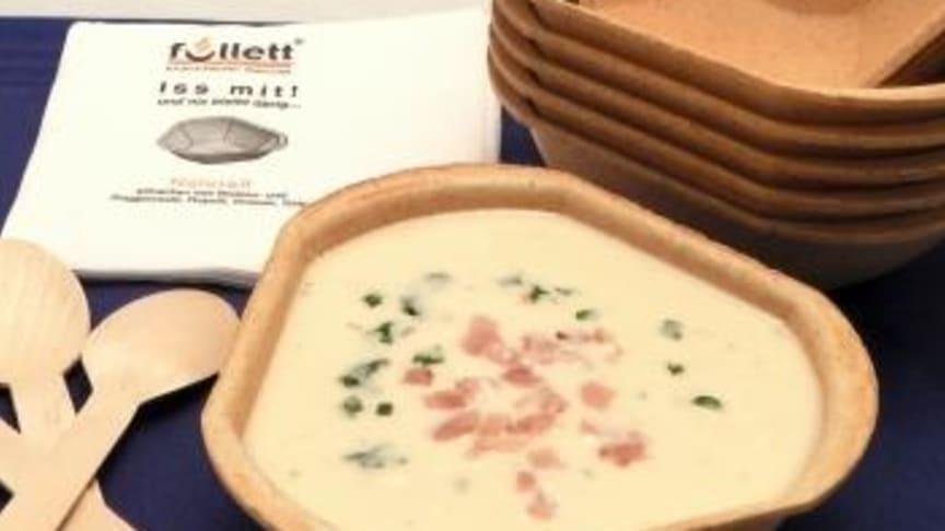 essbare Suppenschale