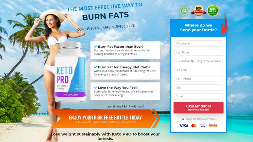 Is Keto Pro Scam?! Keto Pro United Kingdom-UK Dragons Den and (USA) Reviews: #1 Weight Extirpation Diet 100% REAL AND SAFE!